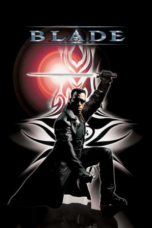 movie poster for Blade (1998)