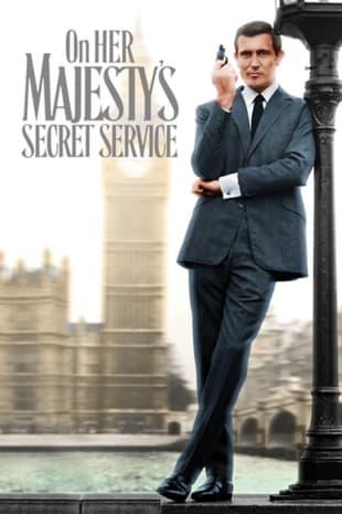 movie poster for On Her Majesty's Secret Service