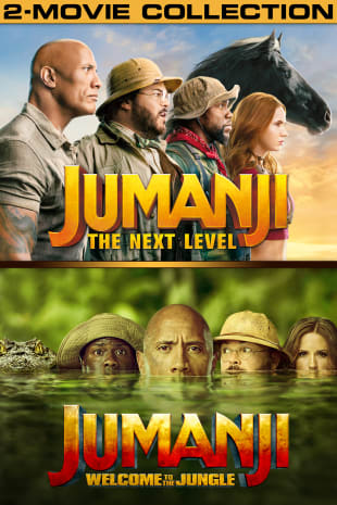 movie poster for Jumanji 2-Movie Collection