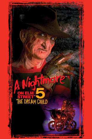 movie poster for A Nightmare On Elm Street 5: The Dream Child