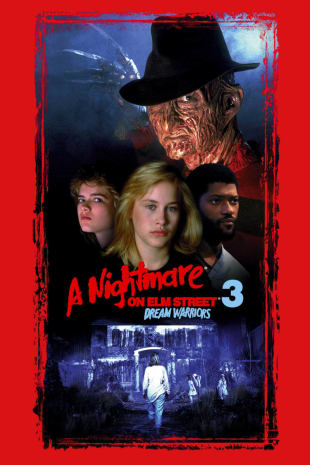 movie poster for A Nightmare On Elm Street 3: Dream Warriors