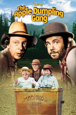 movie poster for The Apple Dumpling Gang