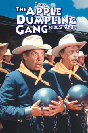 movie poster for The Apple Dumpling Gang Rides Again