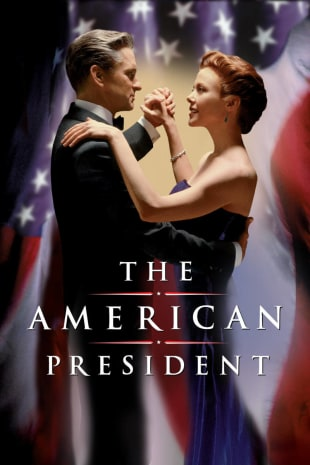 movie poster for The American President