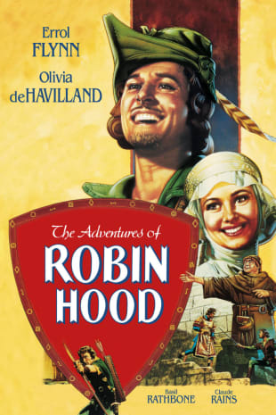 movie poster for The Adventures Of Robin Hood (1938)