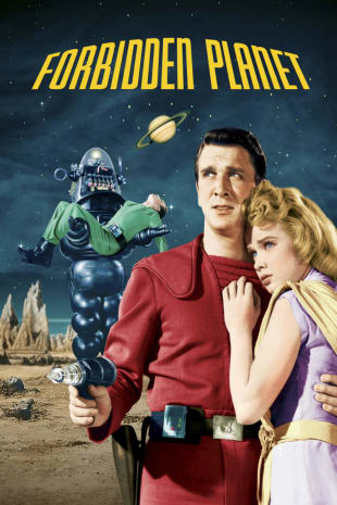 movie poster for Forbidden Planet