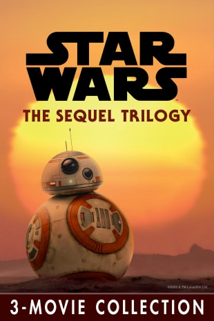 movie poster for Star Wars: The Sequel Trilogy 3-Movie Collection