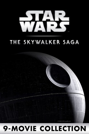 movie poster for Star Wars: The Skywalker Saga 9-Movie Collection