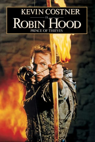 movie poster for Robin Hood: Prince of Thieves
