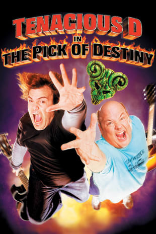 movie poster for Tenacious D In The Pick Of Destiny