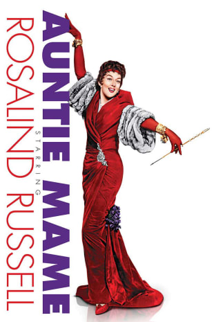 movie poster for Auntie Mame (1958)