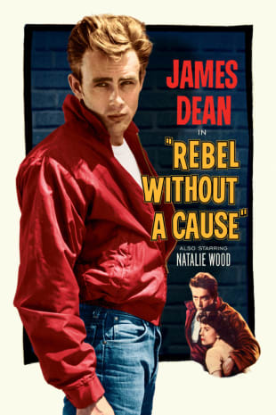 movie poster for Rebel Without A Cause (1955)