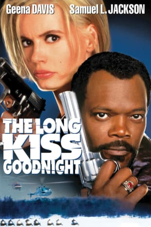 movie poster for The Long Kiss Goodnight
