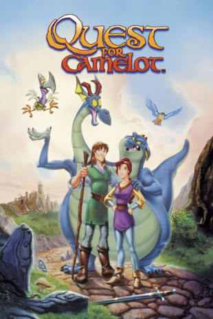 movie poster for Quest For Camelot