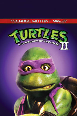 movie poster for Teenage Mutant Ninja Turtles II (1991)