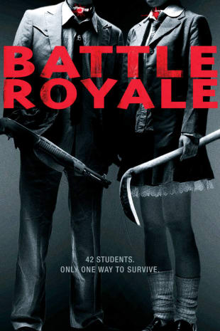 movie poster for Battle Royale