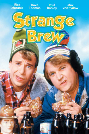 movie poster for Strange Brew