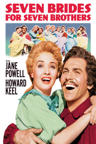movie poster for Seven Brides For Seven Brothers