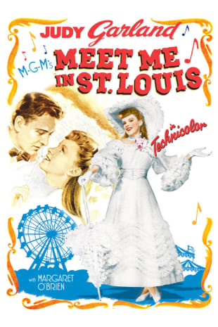 movie poster for Meet Me In St. Louis