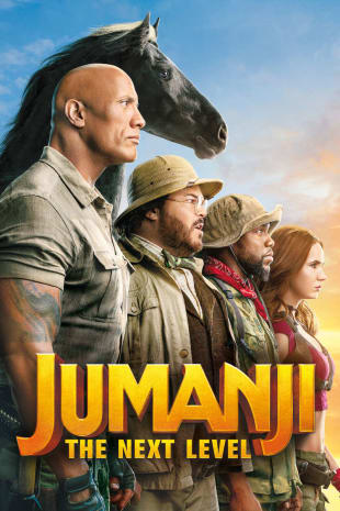 movie poster for Jumanji: The Next Level