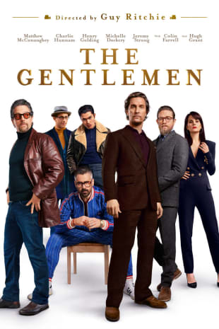 movie poster for The Gentlemen