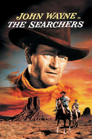 movie poster for The Searchers