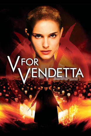 movie poster for V For Vendetta