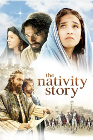 movie poster for The Nativity Story