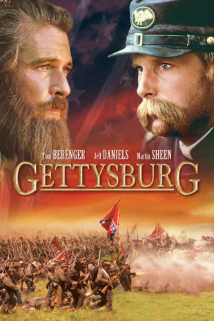 movie poster for Gettysburg