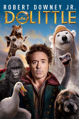 movie poster for Dolittle