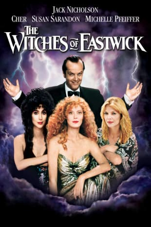 movie poster for The Witches of Eastwick