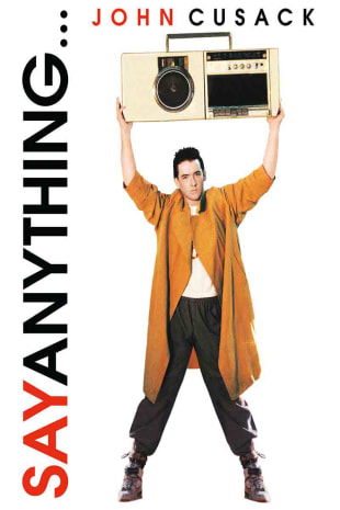 movie poster for Say Anything