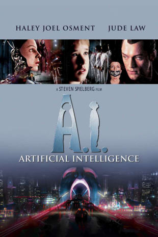 movie poster for A.I. Artificial Intelligence