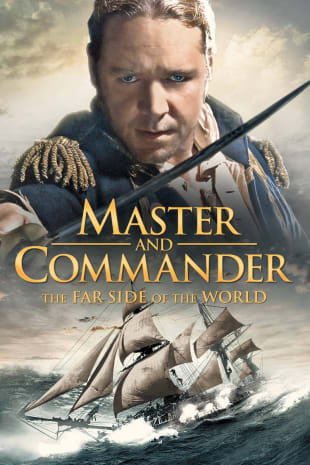 movie poster for Master and Commander: The Far Side Of The World