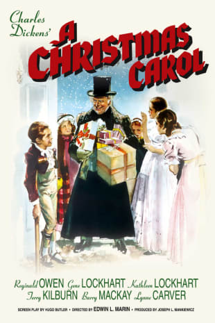 movie poster for A Christmas Carol (1938)