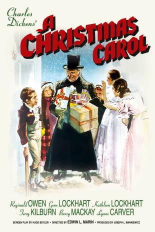 movie poster for A Christmas Carol (1938)