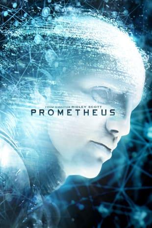 movie poster for Prometheus