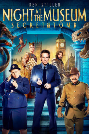movie poster for Night At The Museum: Secret Of The Tomb