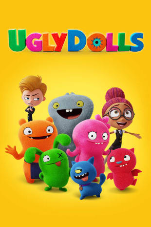 movie poster for Uglydolls