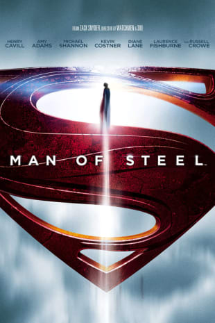 movie poster for Man Of Steel