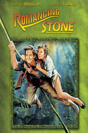 movie poster for Romancing the Stone