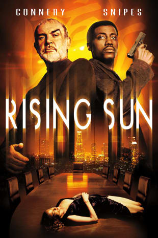 movie poster for Rising Sun