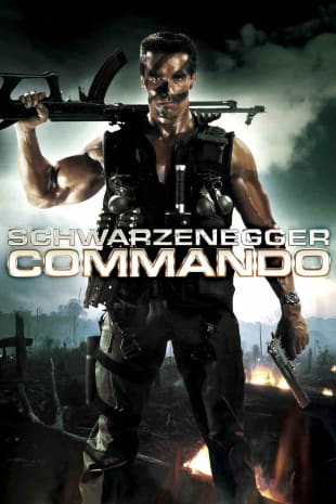 movie poster for Commando