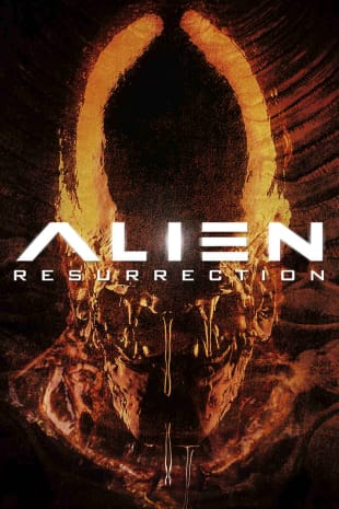movie poster for Alien Resurrection