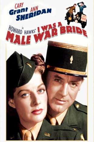 movie poster for I Was A Male War Bride