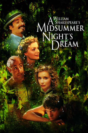 movie poster for William Shakespeare's A Midsummer Night's Dream