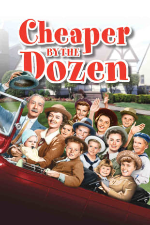 movie poster for Cheaper By The Dozen (1950)