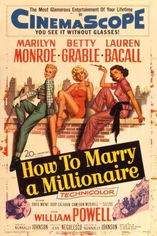 movie poster for How To Marry A Millionaire (1953)