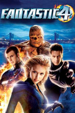 movie poster for Fantastic Four (2005)