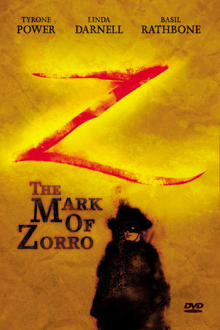 movie poster for The Mark of Zorro (1940)